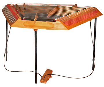 The hammered dulcimer Medium