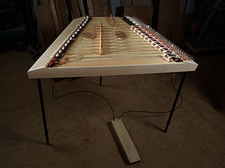 Hammered dulcimer Traveler 18