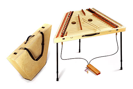 Hammered dulcimer Traveler